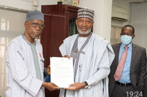 NUC receives Concept Note for Aviation & Aerospace University from Minister of Aviation