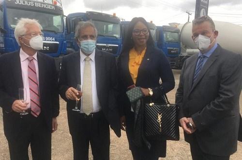 Heritage, Zenith, UBA, Union and four other banks bankroll SCOA hand over of trucks to Julius Berger