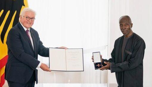 Nigerian awarded German national honour by President Steinmeier